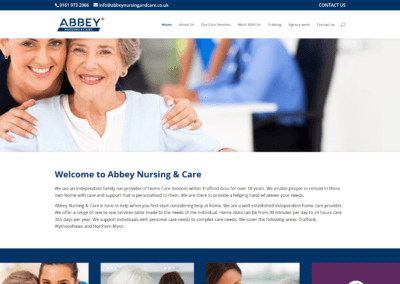 Abbey Nursing Website