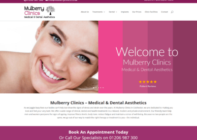 Mulberry Clinics Website