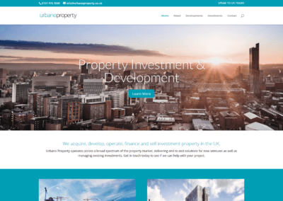 Urbano Property Website